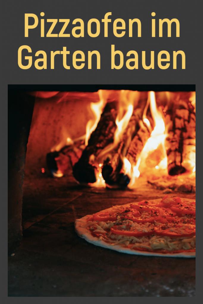 Pizzaofen im Garten bauen